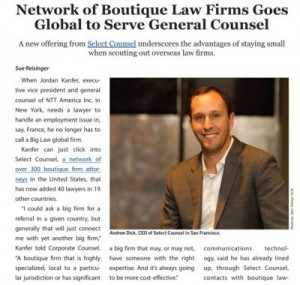 Providing Local Counsel for Global Clients
